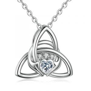 collier Gladdagh en argent 925